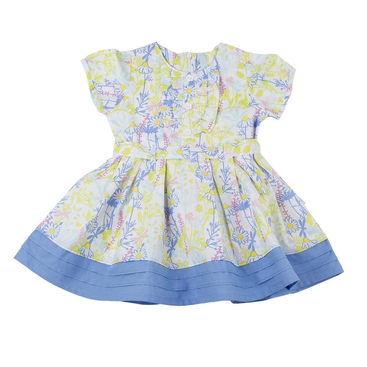 Платье Kogankids<br>Размер: 80, 86, 92, 98; Цвет: Белый;
