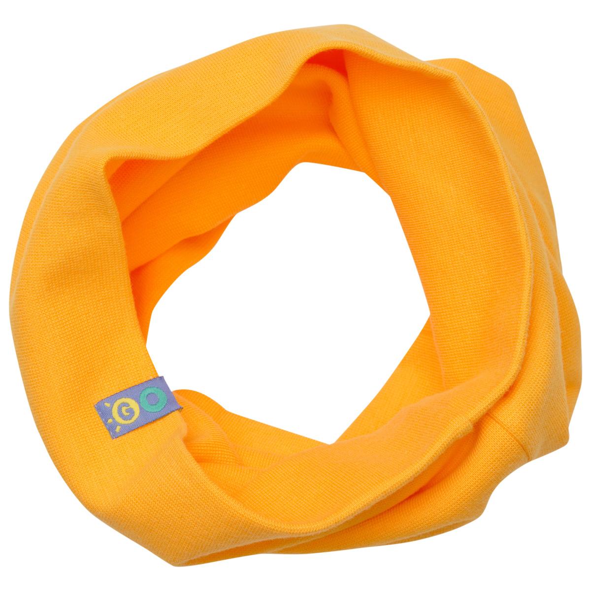 """Желтый шарф-""""снуд"""" детский"""