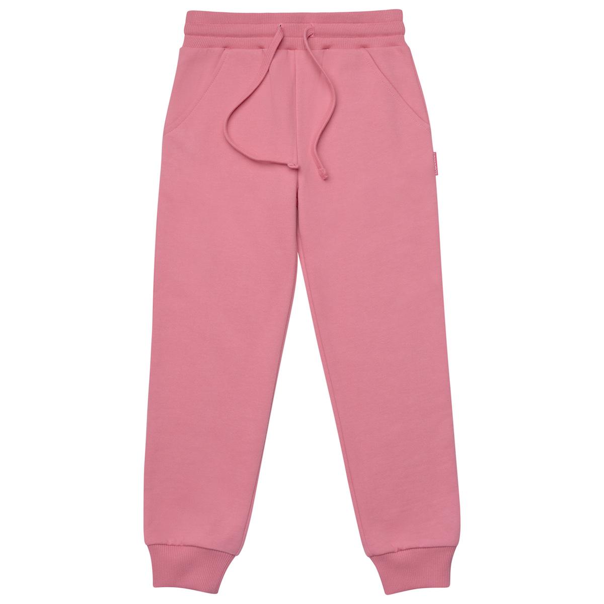 Персиковые брюки для девочки