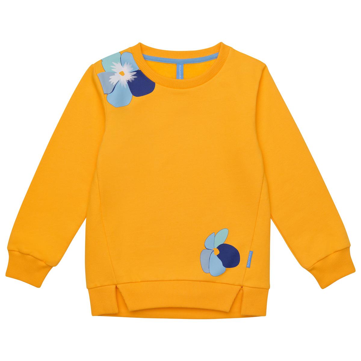 Желтый джемпер для девочки