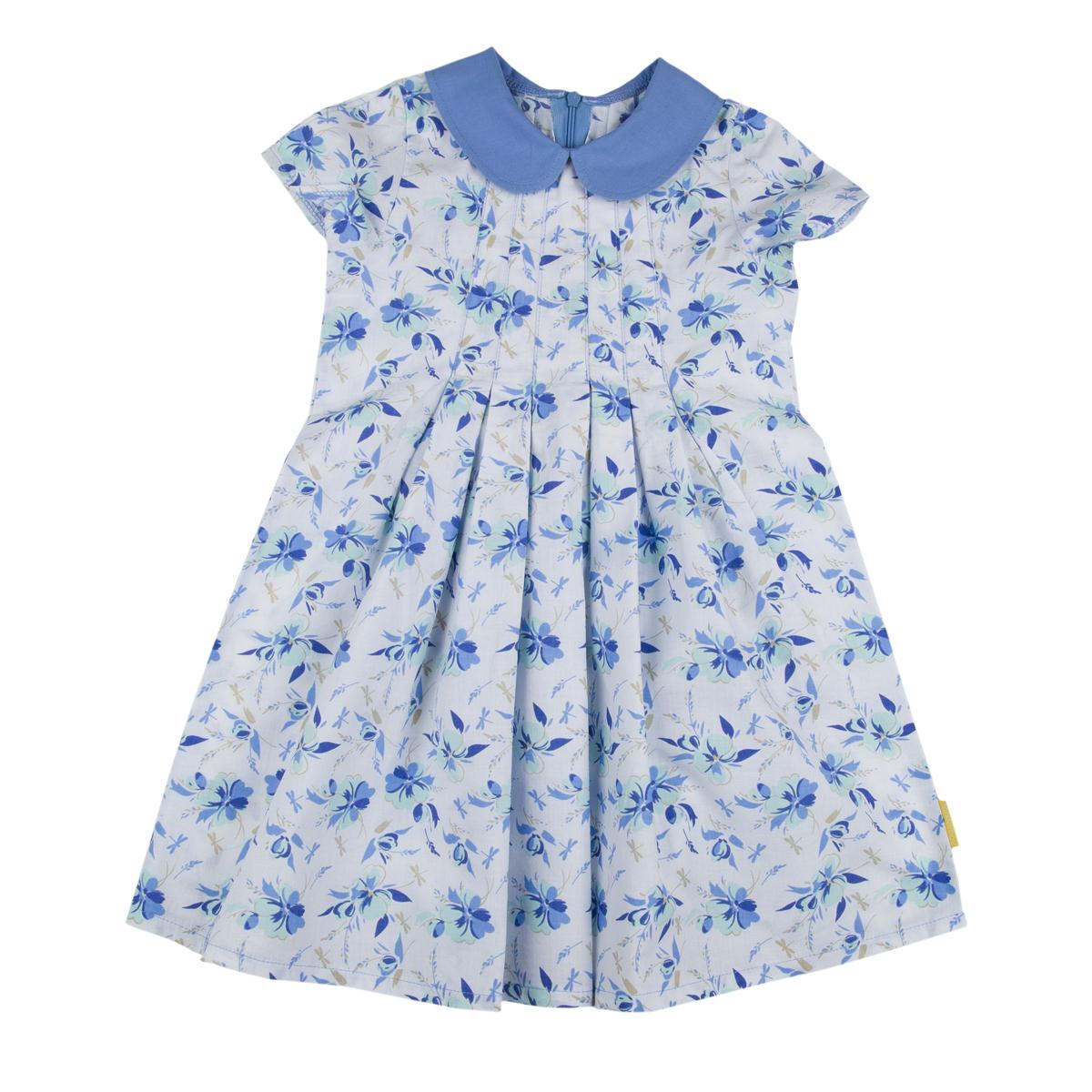 Платье Kogankids<br>Размер: 104, 110, 116, 122, 128; Цвет: Белый;