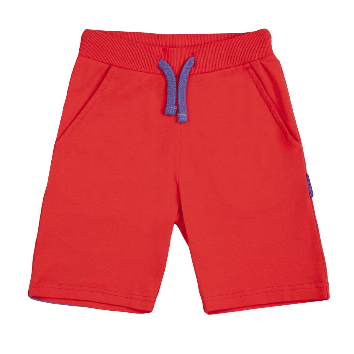 Шорты KogankidsШорты на резинке с поясом-шнурок выполнены из натурального хлопка, гарантируют ежедневный комфорт. Идеальная модель для занятий спортом и летних прогулок.<br>Размер: 104, 110, 116, 122, 128, 134; Цвет: Красный;