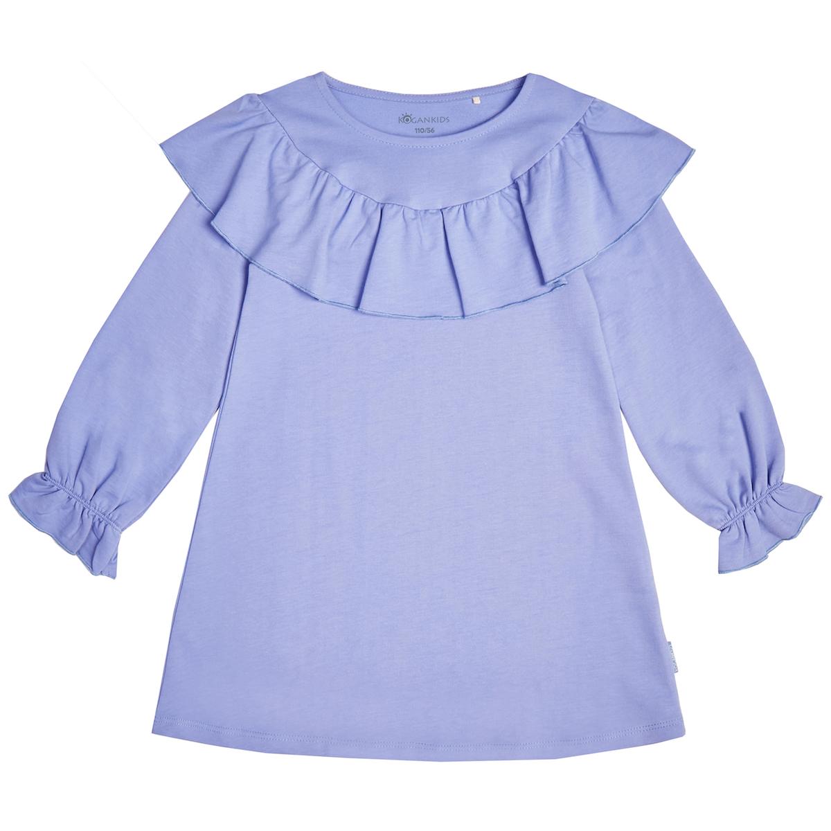 Сиреневое платье для девочки