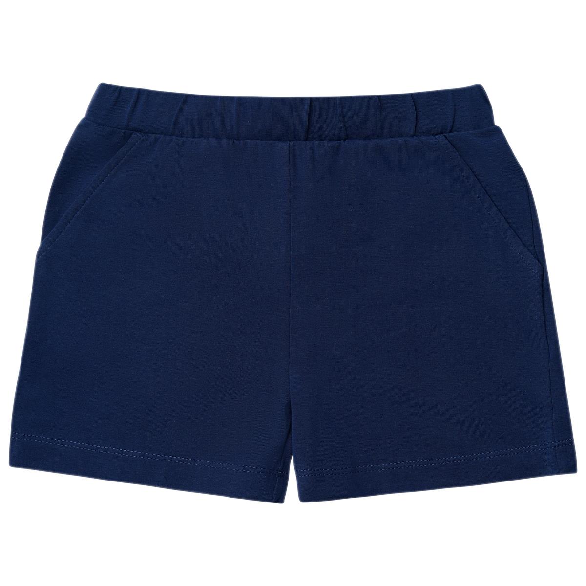 Темно-синие шорты для девочки