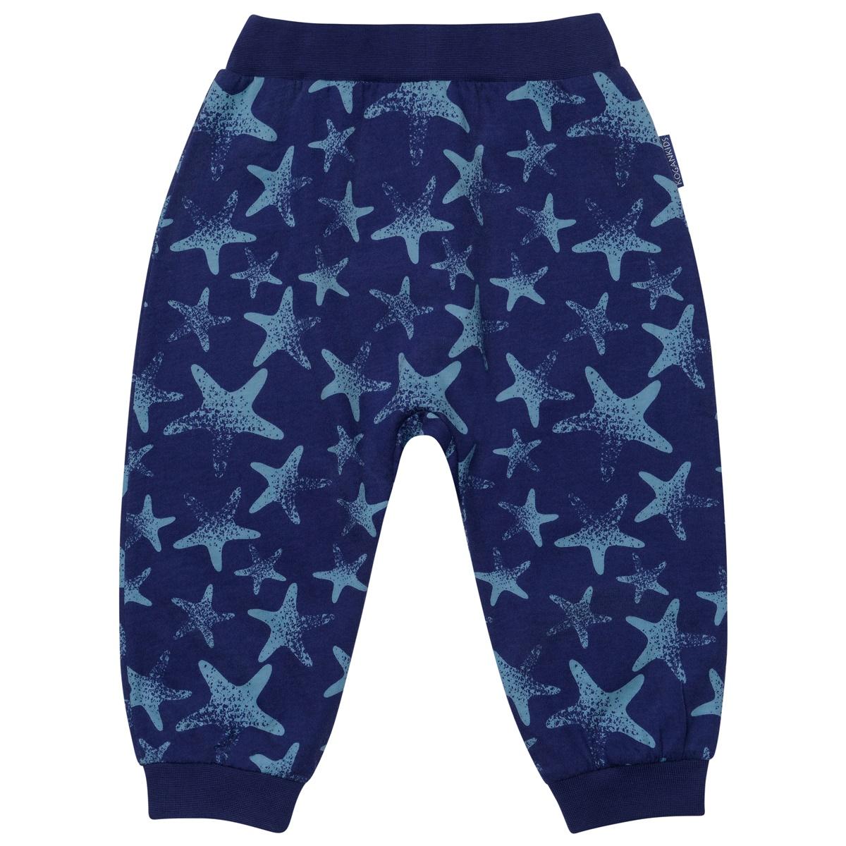 Ползунки для мальчика с морскими звездами