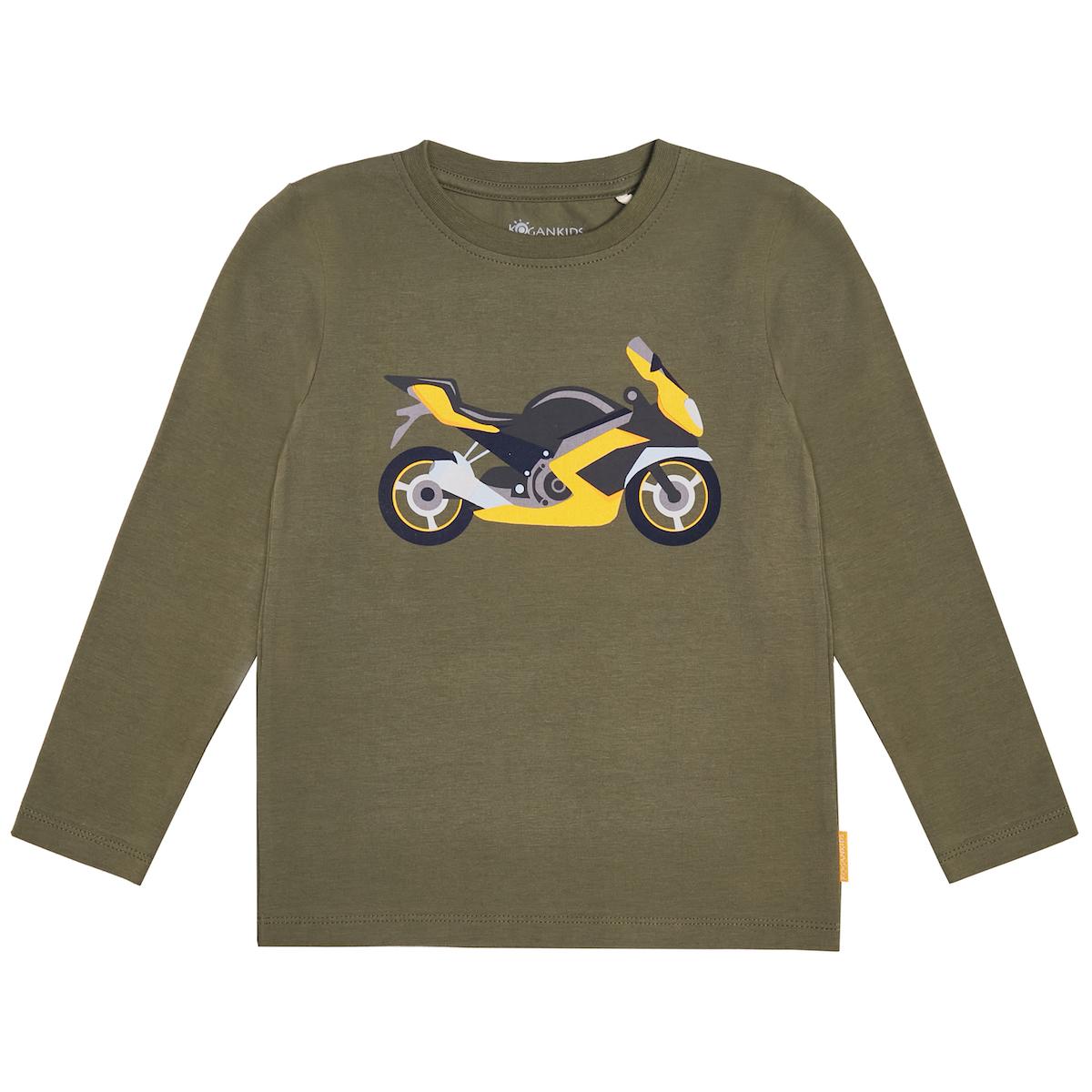 Джемпер для мальчика с мотоциклом