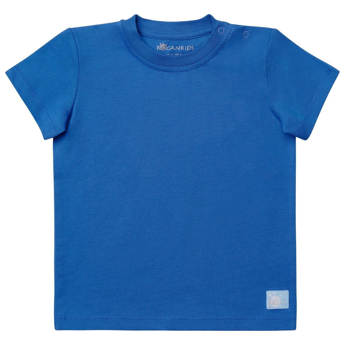 Синяя футболка для мальчика