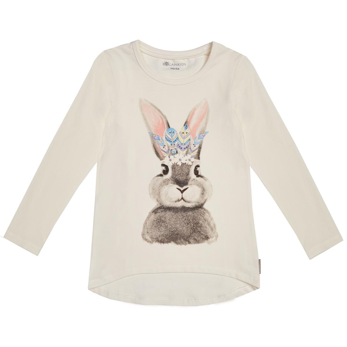 Джемпер для девочки с кроликом