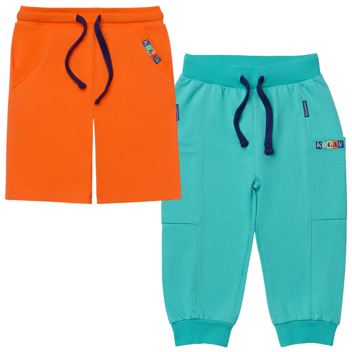 Комплект для мальчика из шорт и брюк