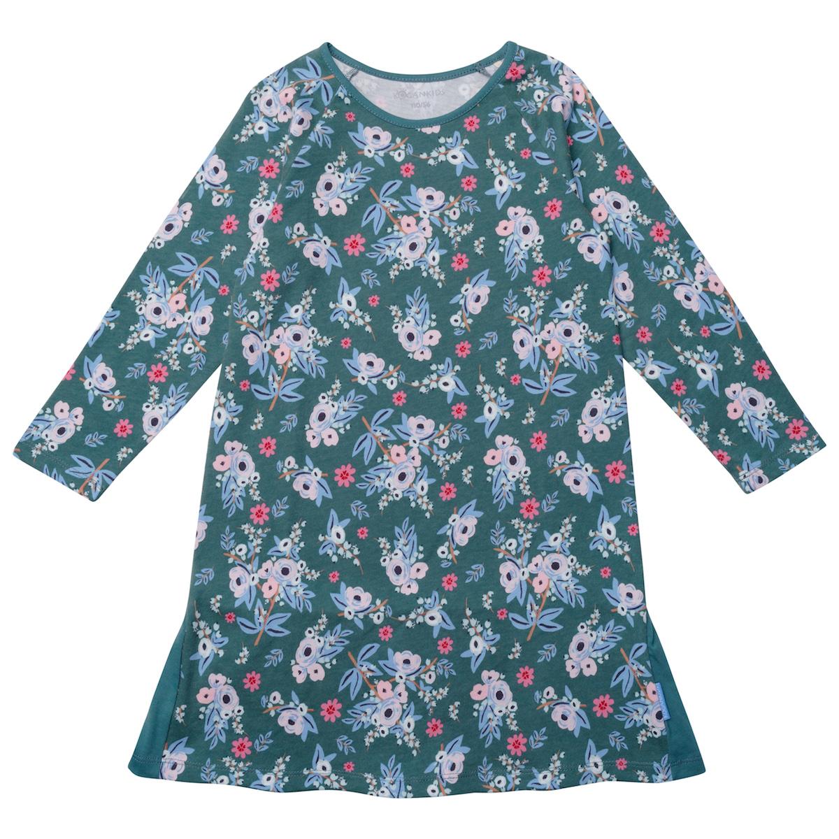 Платье для девочки с цветочным принтом