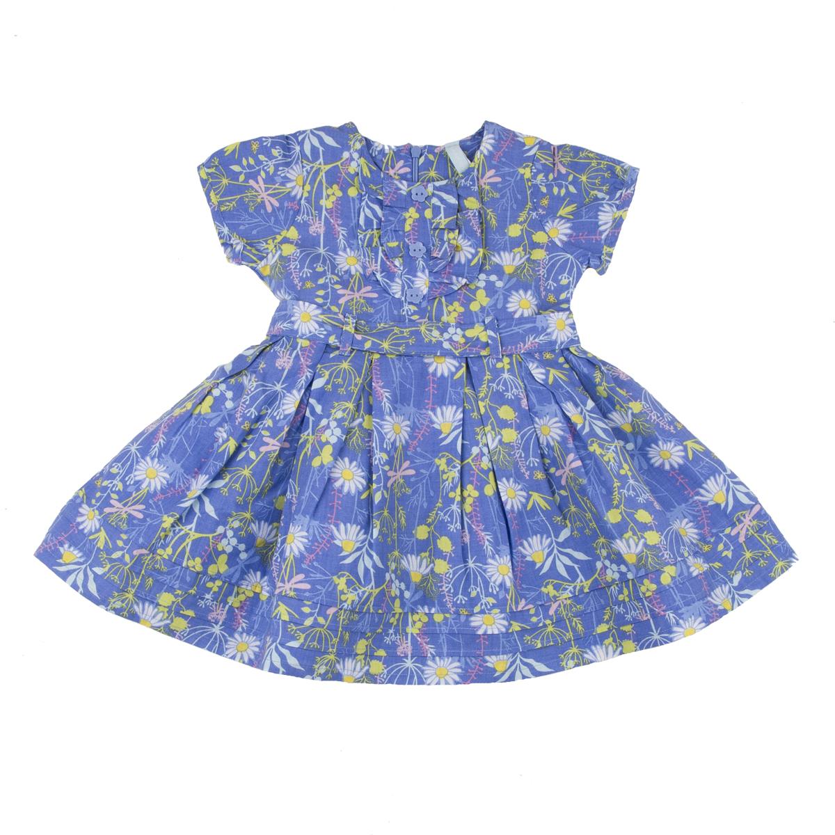 Платье Kogankids<br>Размер: 80, 86, 92, 98; Цвет: Синий;