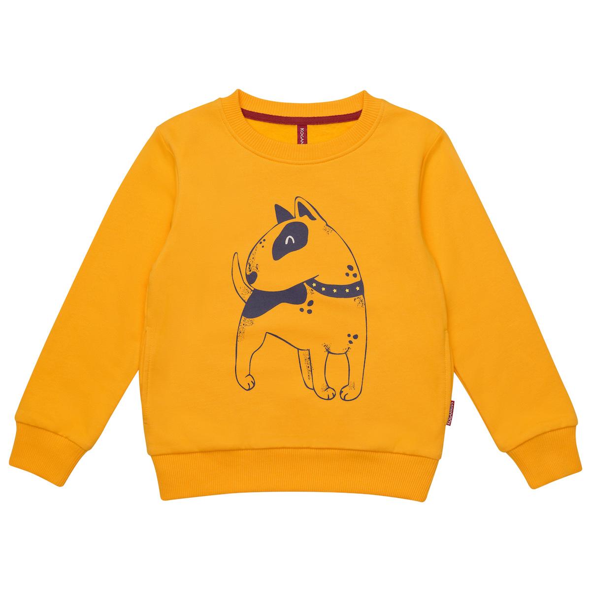 Желтый джемпер для мальчика