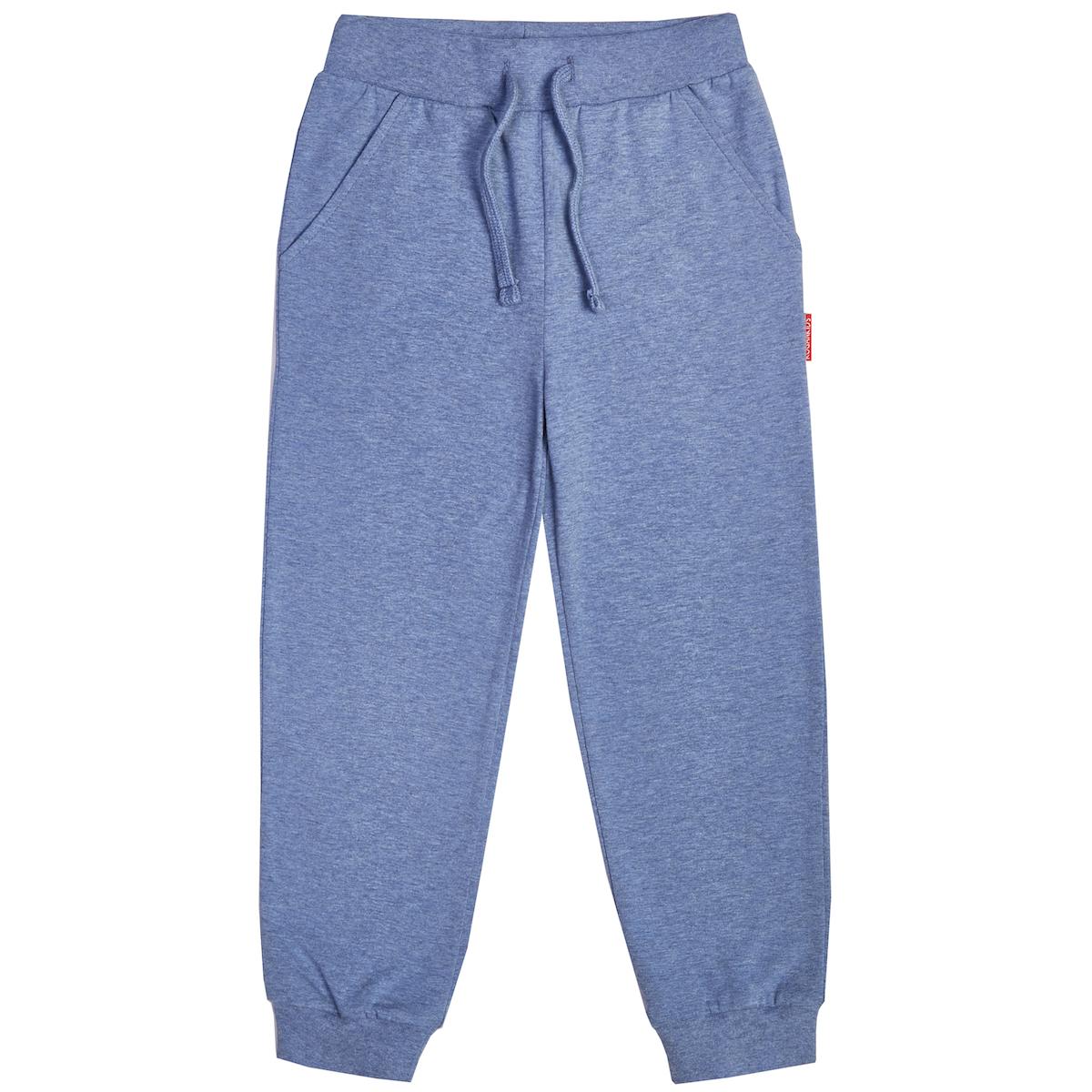 Меланжевые брюки для мальчика