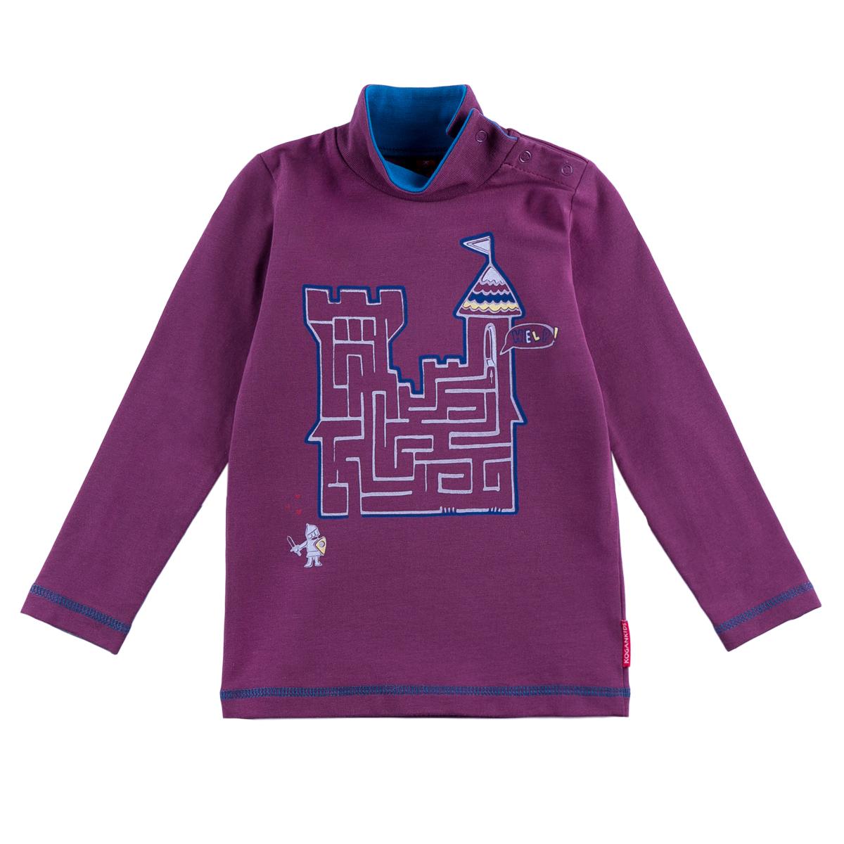 Водолазка Kogankids<br>Размер: 80, 86, 92, 98; Цвет: Фиолетовый;